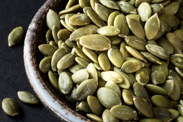 Green pumpkin seeds - pepita