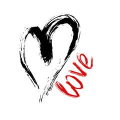 Valentine's day illustration,heart