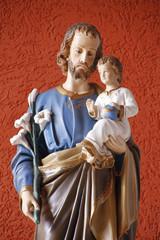 Image of Saint Joseph and Baby Jesus