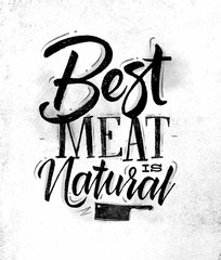 Poster best meat