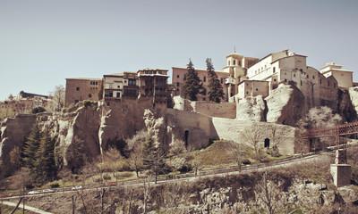 Hanging houses, Cuenca. Spain