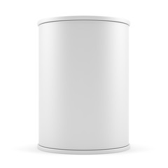 Blank advertising cylinder