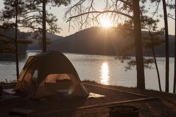 Camping inGeorgia