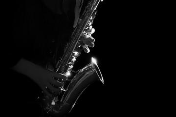 Saxophone jazz musical instruments Saxophonist