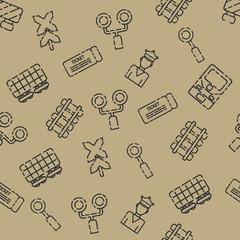 Railroads set pattern