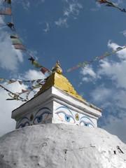 Stupa Near Namche Bazaar on Mt. Everest Base Camp trek, Nepal