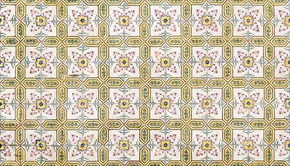 Printed kitchen splashbacks Moroccan Tiles portuguese ceramic azulejos