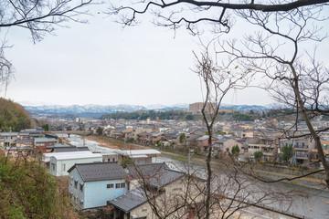 城下町金沢の町並み