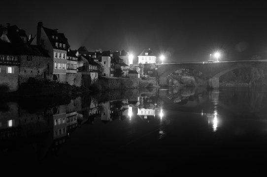 Argentat by night