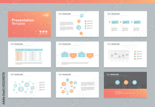 Supply chain annual report powerpoint templates.