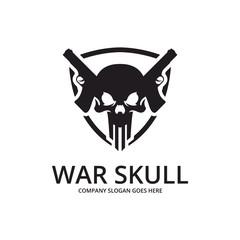 Skull logo. Perfect game logo