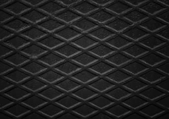 Black, non slip steel texture. Background of metal.