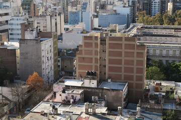 City point of view skyline Cordoba Argentina