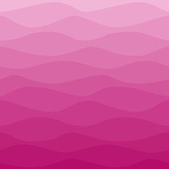 Gradual wavy pink background