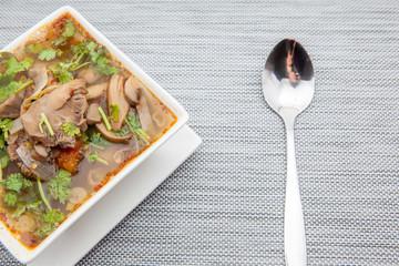 an thai soup