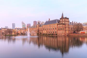 Binnenhof Palace in The Hague (Den Haag),