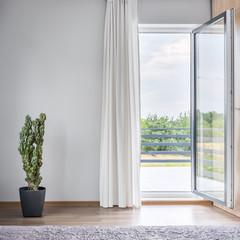 Room with balcony idea