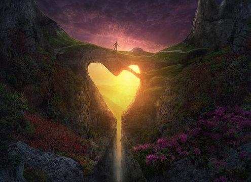 Nature Heart Bridge