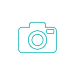 camera media photo digital line icon