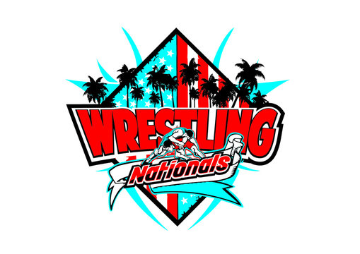 wrestling vector