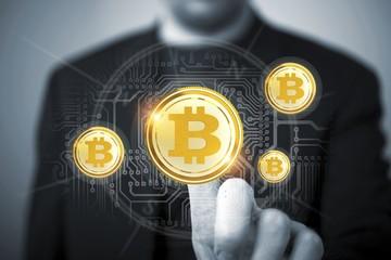 Bitcoin Trader Concept