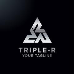 letter Triple R logo
