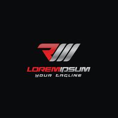 Letter RM Logo