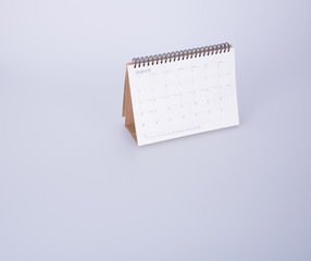 diary or open leather notebook on the background.