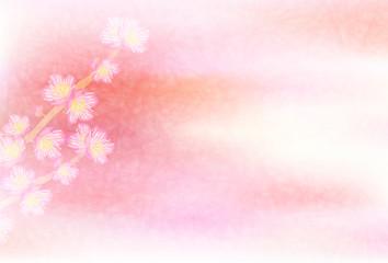 梅 春 花 背景