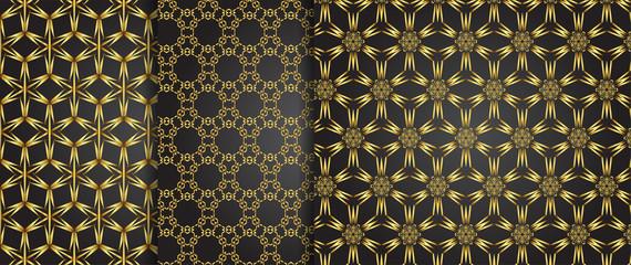 Set of 3 pattern Indy backgrounds for design