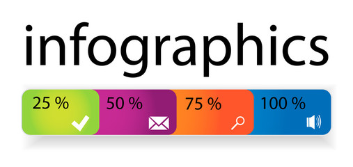 Vector template infographic