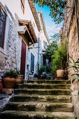 Dans le village des Baux-de-Provence