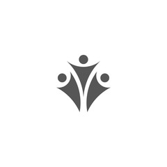 Grey Family icon or sign