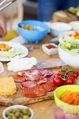 Mediterranean Style Platter