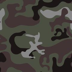 Seamless texture of camouflage khaki