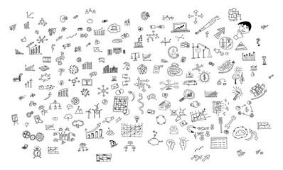 Creativity concept on white background