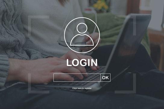 Concept of login