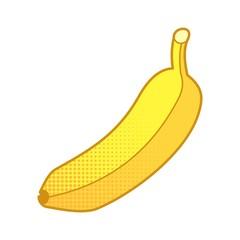 Banana Cartoon Vector Illustration
