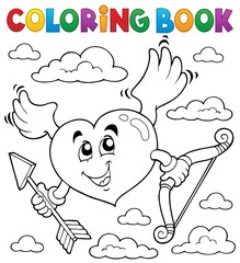 Poster For Kids Coloring book Valentine theme 6