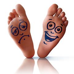Happy Sad Feet