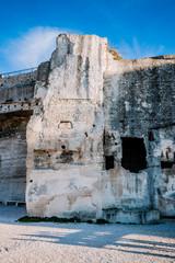 Dans le château des Baux de Provence