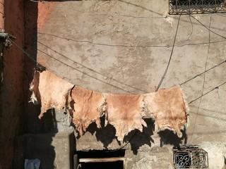 tannery in Marrakesh