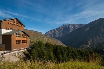 Trepalle il paese abitato più alto in Italia, Livigno, Valtellina, Sondrio, Lomabardia, Italia