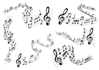 Musiknoten Sammlung