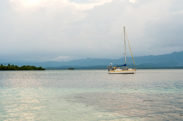 bateau au iles san blas