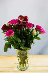 """Blumen mit Herz """"I love you"""""""