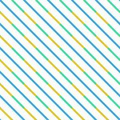 Modern Line design with dominant blue color, repeatable
