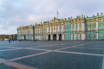 Winter Palace at Day, Saint Petersburg