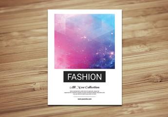 Grid Style Fashion Lookbook Layout 4