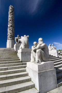 Skulpturen Vigeland Park